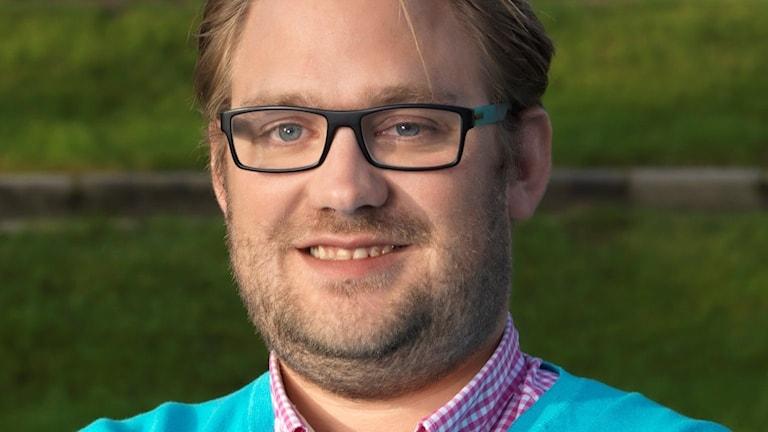 Henrik Sundqvist, tf ordförande för Sveriges dövas riksförbund.