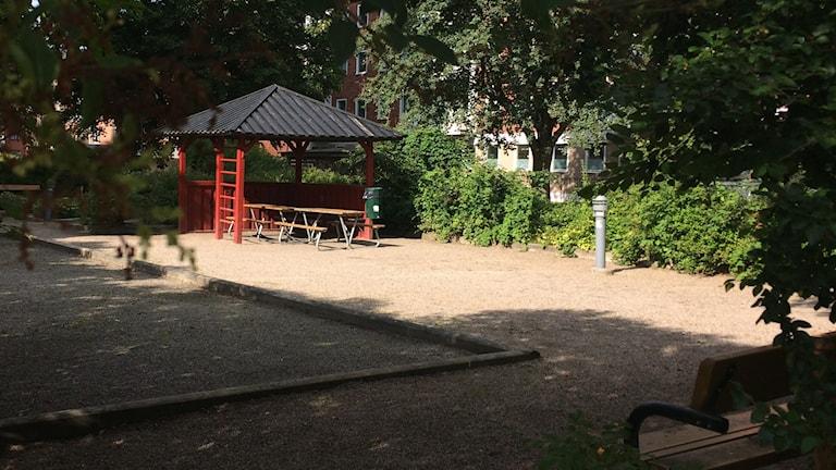 Nobelparken i Gävle.