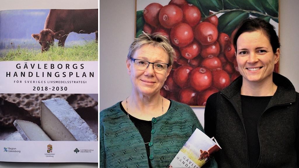 Berit Lövgren och Nanna Jan-Ers