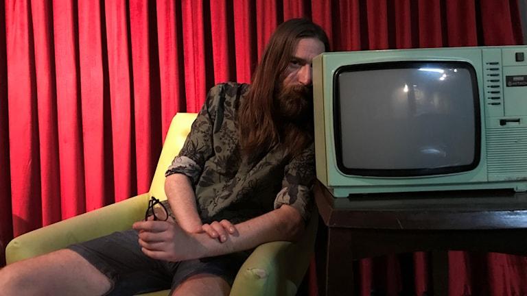 Viktor Zeidner är samordnare för EXIT filmfestival.