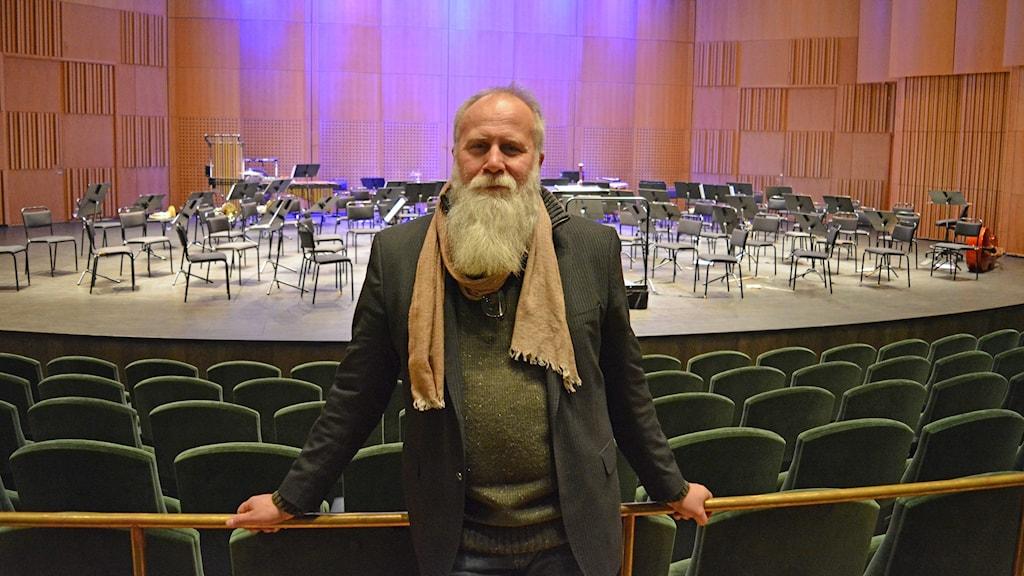 Örjan Hans-Ers konserthuschef.