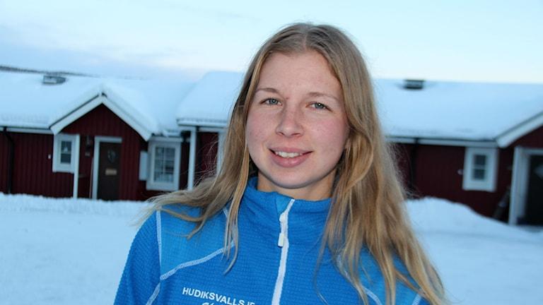 Evelina Settlin kör för en plats i världscuplaget.