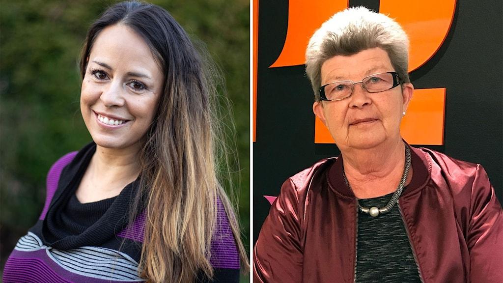 Yamile Lindgren och Ewa-Britt Gabrielsen