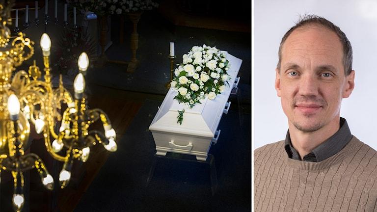 Patrick Eriksson begravning