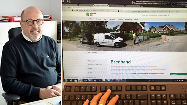 Göran Florén, affärsområdeschef Söderhamn Nära.
