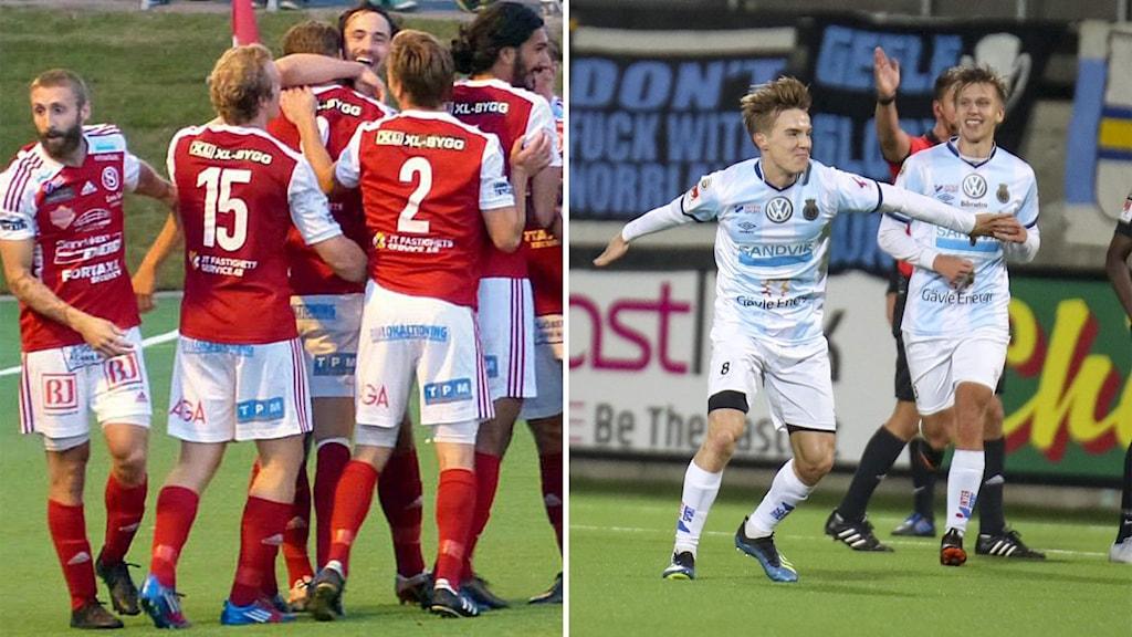 Sandvikens IF - Gefle IF som båda spelar i herrarnas div.1 Norra
