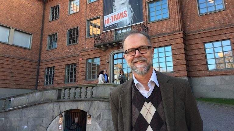 Hans Öjmyr, chef på Länsmuseet i Gävleborg.
