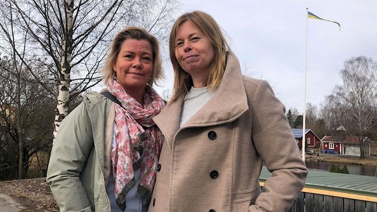 Lotta Artursson och Malin Svedberg.