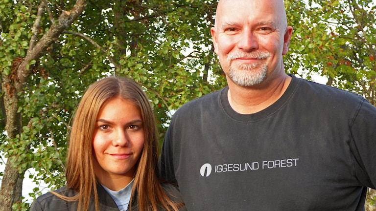 Erica Larsson och Erik Molin  vann årets #p4sommarbilden