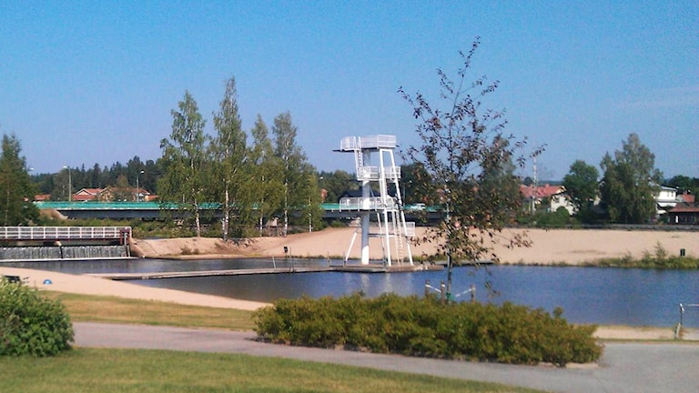 Karlslundsbadet i Bollnäs.