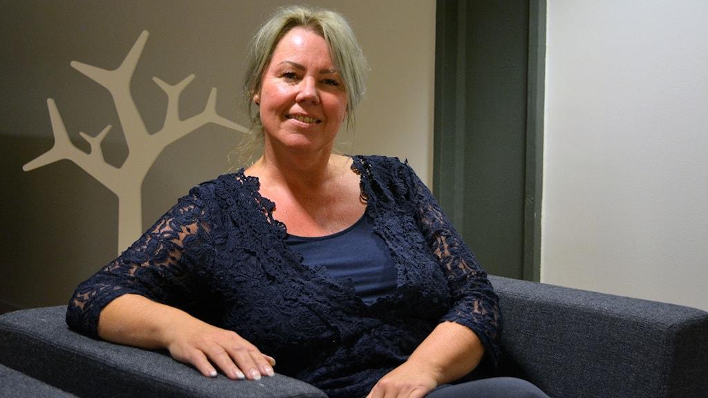 Anneli Mehtälä, chef för utredningsenheten vuxen vid Socialtjänsten i Gävle.