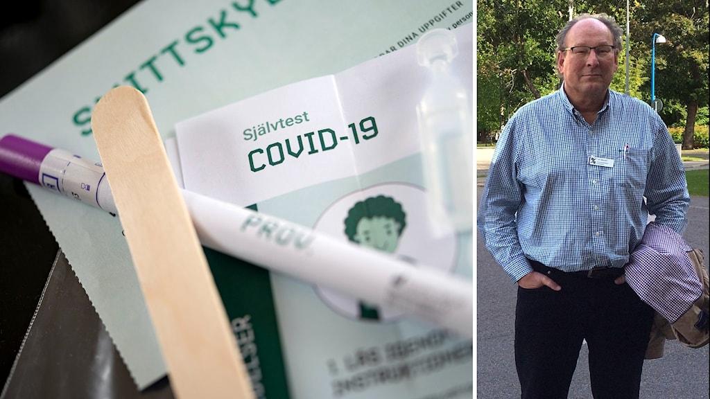 Högt tryck på självtest för coronavirus påverkar smittspårningen.