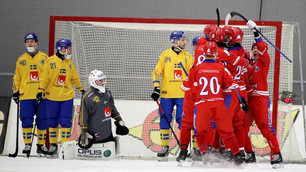 Årets bandy-VM i Ryssland ställs in.