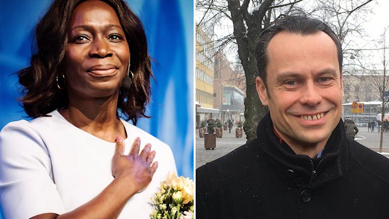 Per-Åke Fredriksson, länsordförande för Liberalerna i Gävleborg, är glad att Nyamko Sabuni valts till ny partiledare för Liberalerna.