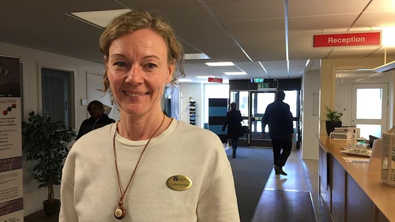 Gunilla Svensson, enhetschef på Hudiksvalls lokala utbildningscentrum CUL.