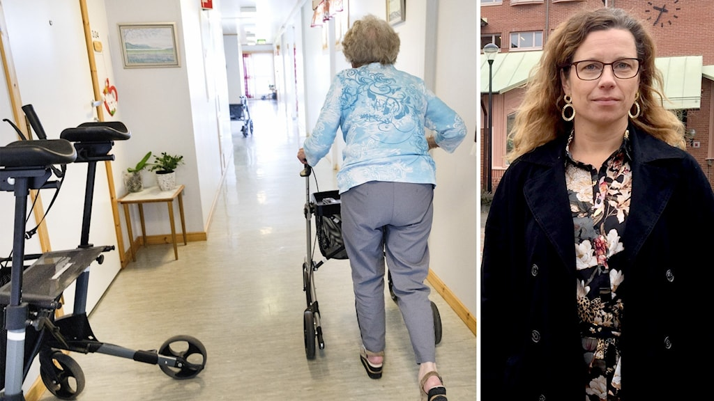 Anna Forsberg är äldreomsorgschef i Ljusdal.