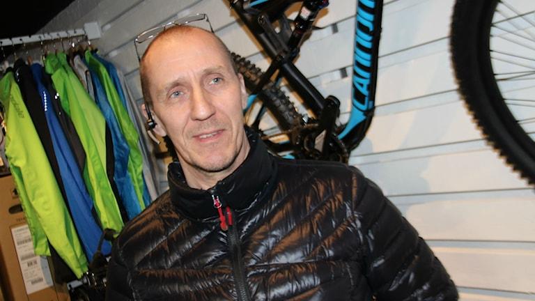 Thomas Bolin är relativt nybliven cykelentusiast från Sandarne som finns med på startlinjen på torsdag när Helsingecupen i MTB drar igång.