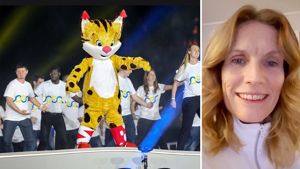 Eva Sundqvist, idrottslärare på Höghammargymnasiet i Bollnäs, tycker det är synd att det inte blir Special Olympics i Åre.