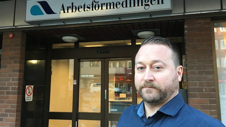Mikael Eriksson chef Arbetsförmedlingen Gävle