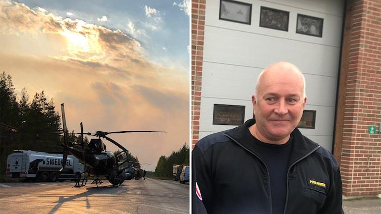 Peter Nystedt, chef för räddningstjänsten i Ljusdals kommun.