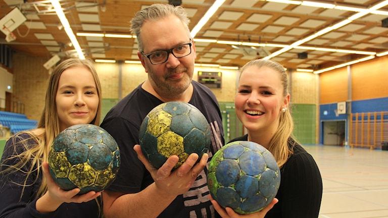 Emma Persson, Magnus Dehlin och Jennifer Jonsson.