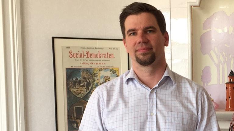 Markus Evensson, kommunstyrelsens ordförande för socialdemokraterna, Ljusdal