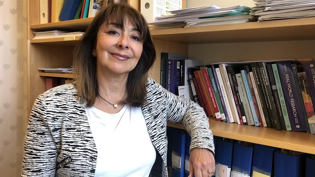 Fereshteh Ahmadi, professor i sociologi Högskolan i Gävle