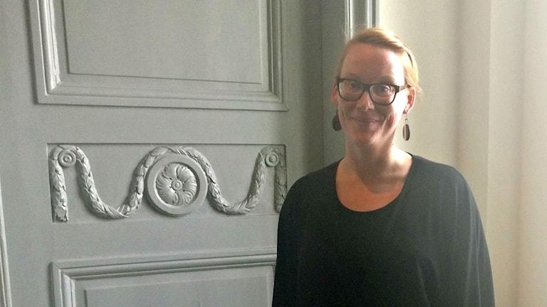 Eeva Östberg, strateg för social hållbarhet på Gävle kommun som ska förbättra situationen för romska kvinnor och barn.