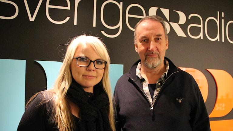 Sofia Wester-Eriksson och Per Götberg.