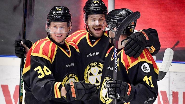 Brynäs vann mot Luleå på torsdagskvällen och fick med sig tre viktiga poäng i slutspelsjakten.