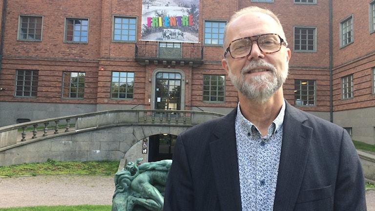 Hans Öjmyr, museichef Länsmuseet Gävleborg