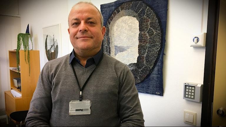 Mohamed Chabchoub är chef för Arbetsförmedlingen i södra Hälsingland.