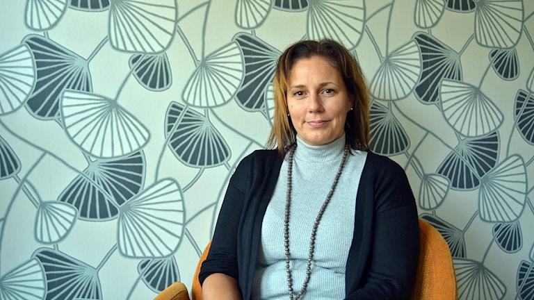 Porträtt av Gävle kommuns trafik- och tillståndschef Helena Werre