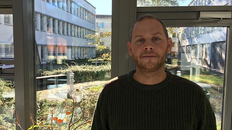 Aron Westlin, klimat och energisamordnare på Länsstyrelsen Gävleborg.