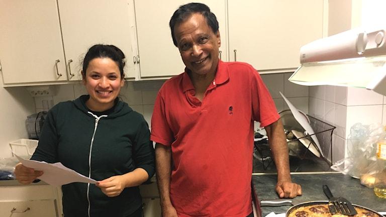 Integration och matlagning i ett i Sandviken