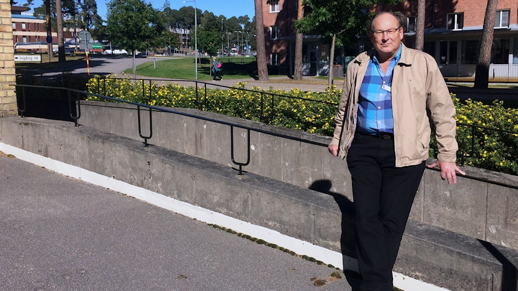 Smittskyddsläkare Lars Wesslén