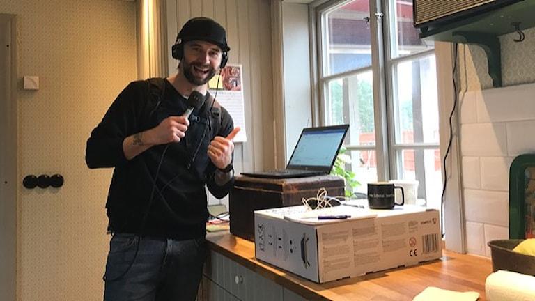 Kristian Bruce Bolinder programledare på P4 Gävleborg