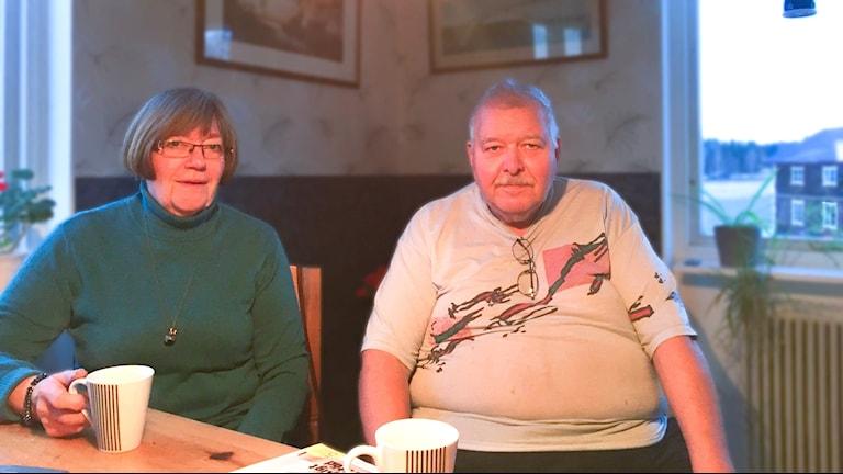 Karl-Göte Persson och Anita Wickström