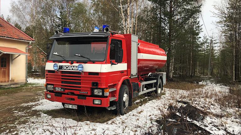 Tankbil Kårböle Räddningstjänst Föne Skogsbrand Skogsbränder Peter Nystedt Räddningschef