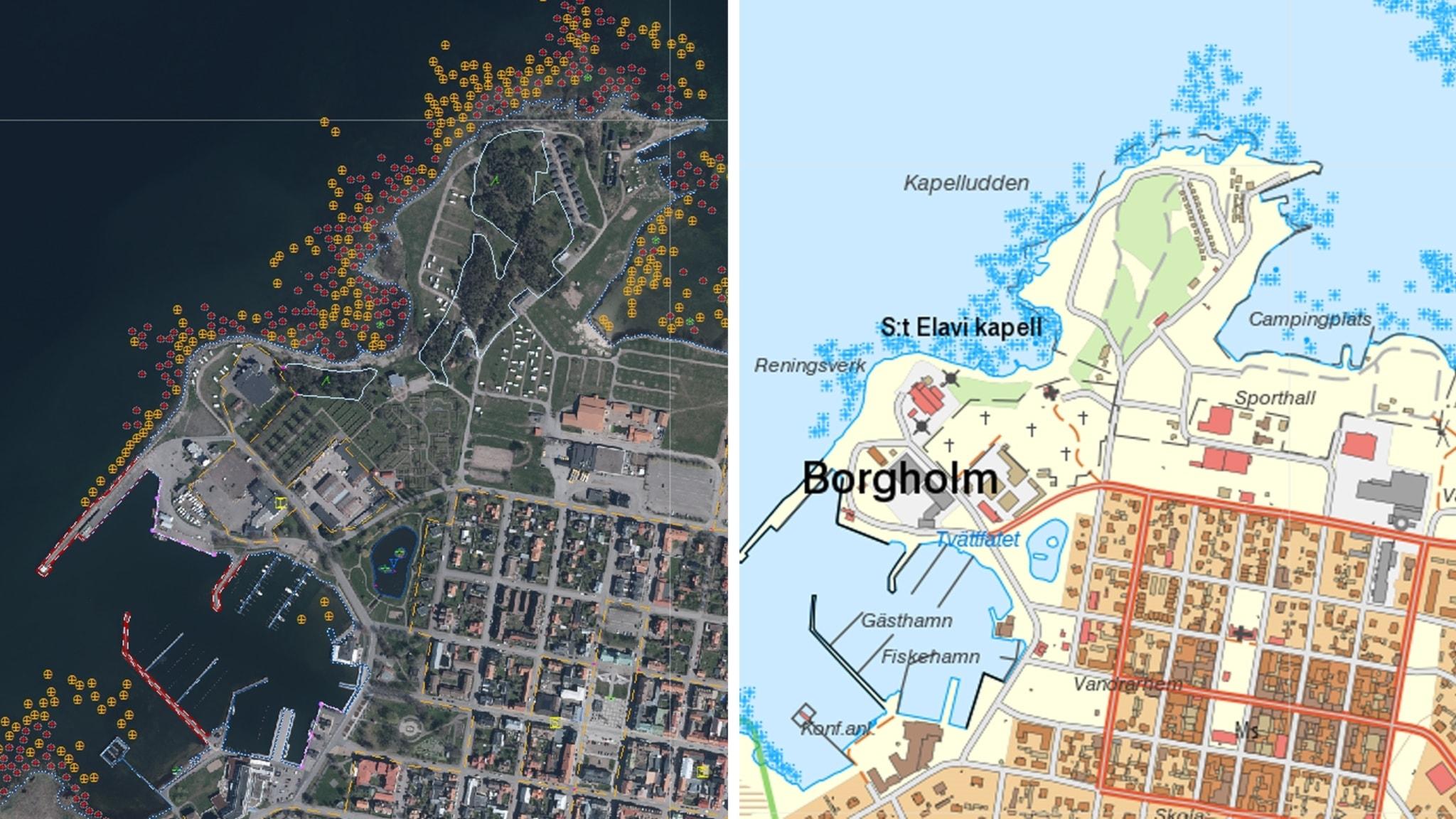 Den svenska strandlinjen har kartlagts