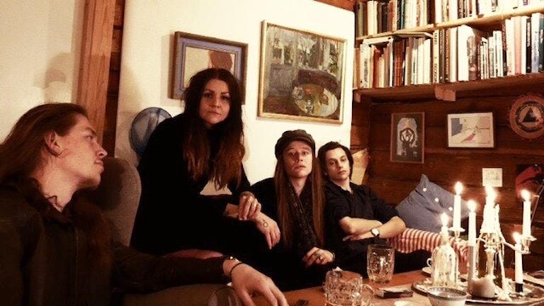Bandet Carnation Blue från Hudiksval..