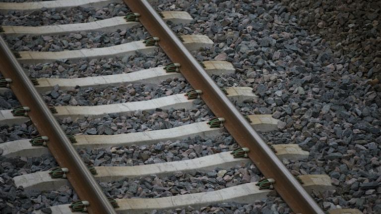 Järnvägen är viktig för hamnen i Norrsundet.