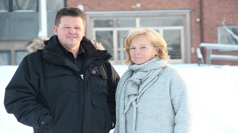 Ulla-Karin Enbom och Patrick Olsson