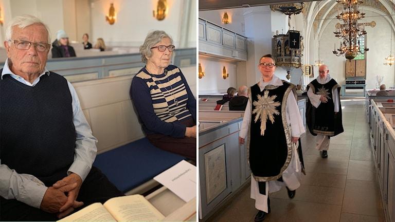 Gunnar Thonfors Lilian Isaksson Åsa Tollén Bollnäs kyrka