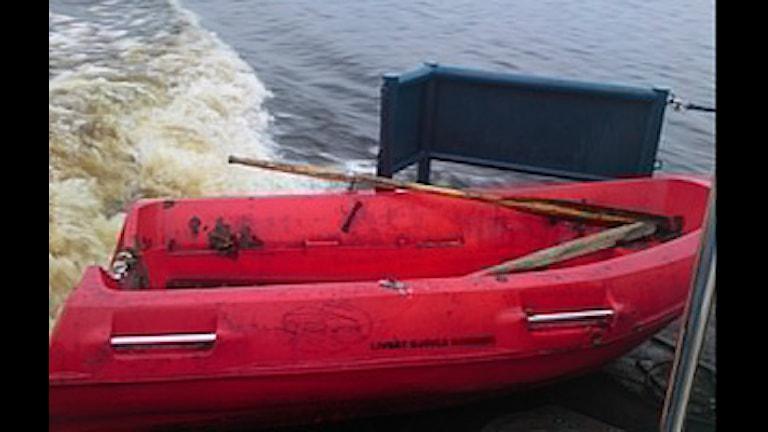 Livräddningsbåt. Foto: Tommy Engberg RS Gävle