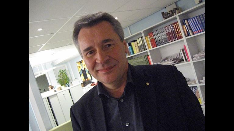 Kenth Larsson, chef för lednings- och verksamhetsstöd (LOV), lämnar sin tjänst.