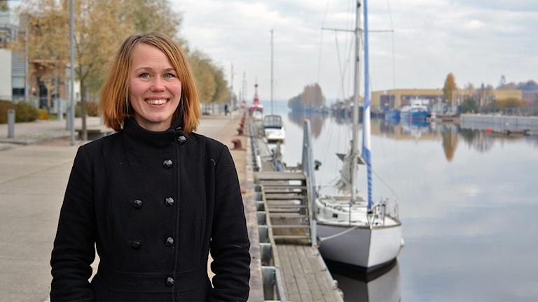 Skeppsvrak ska saneras i Östersjön berättar Therese Metz (MP)