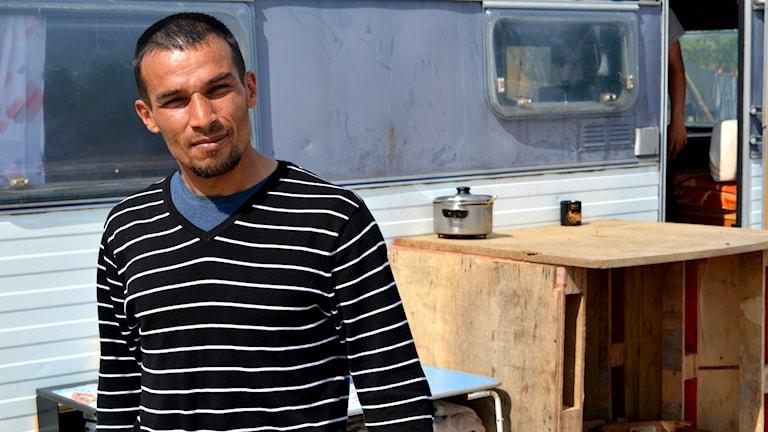 Atanas Asenov, rom från Bulgarien som bott på Alderholmen i Gävle.