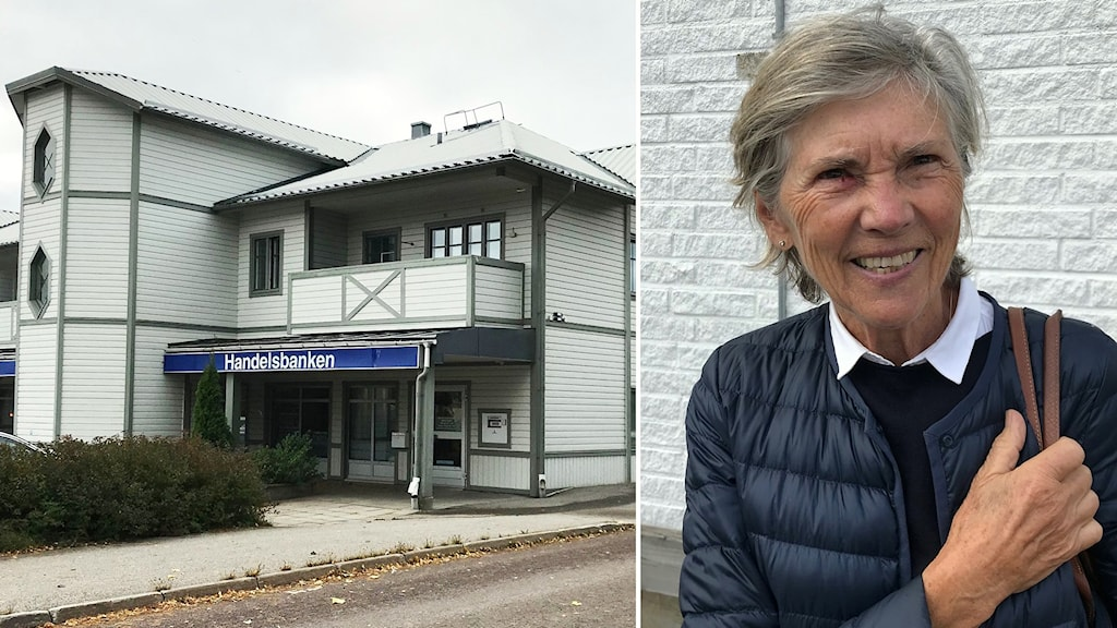 Brigitta Norinder, är en av Handelsbankens kunder i Gävleborg som tycker nedläggningen är tråkig.