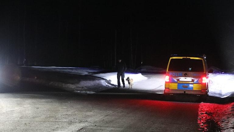 Polisinsats Blåkulla